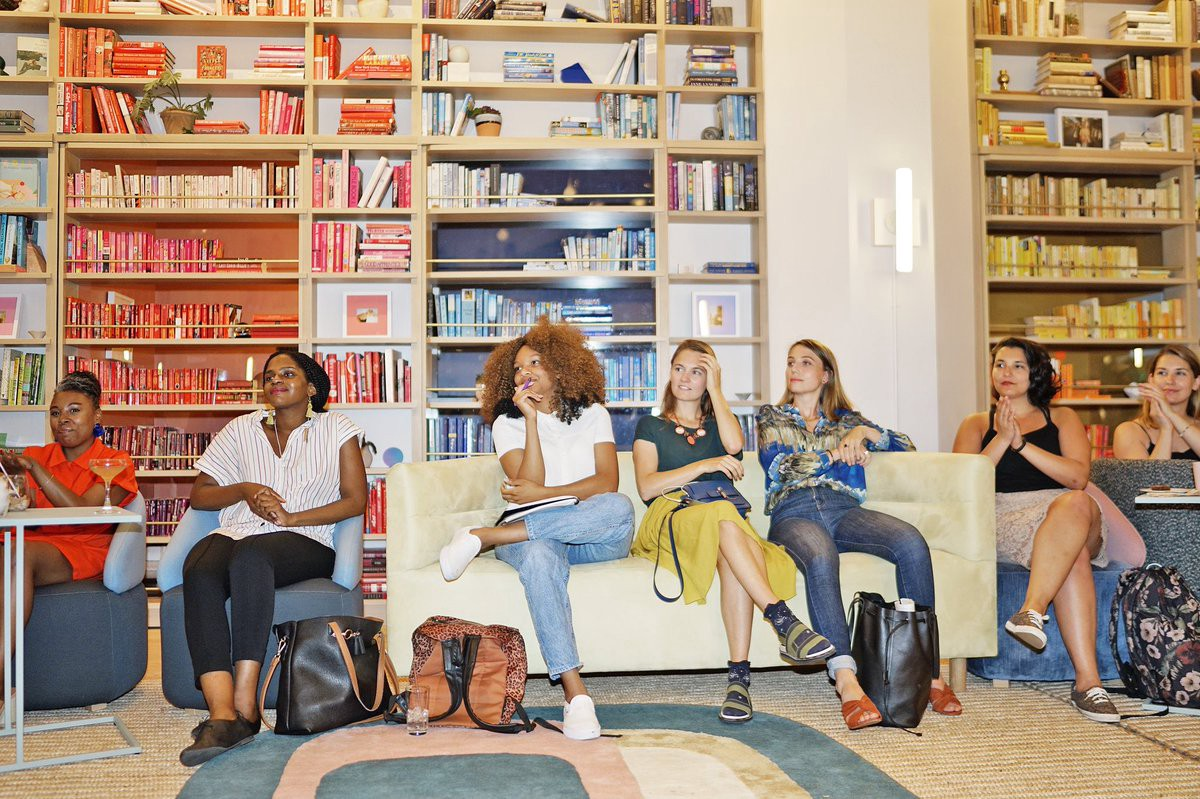 Women-only co-working space